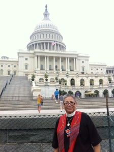 The Rev. Virginia Marie Rincon, a priest of this diocese now living in Texas, with great knowledge and expertise on immigration issues in Maine.