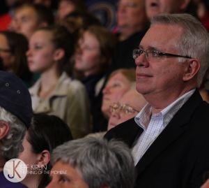 MENJ Director John Hennessy (Photo by Jeff Kirlin)